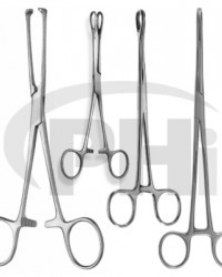 Sponge, Dressing and Tissue Grasping Forceps Towels Clamps