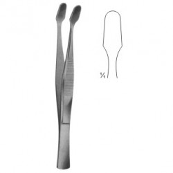 Delicate Dissecting Microscopic Sterilizing Forceps (Kuhne)